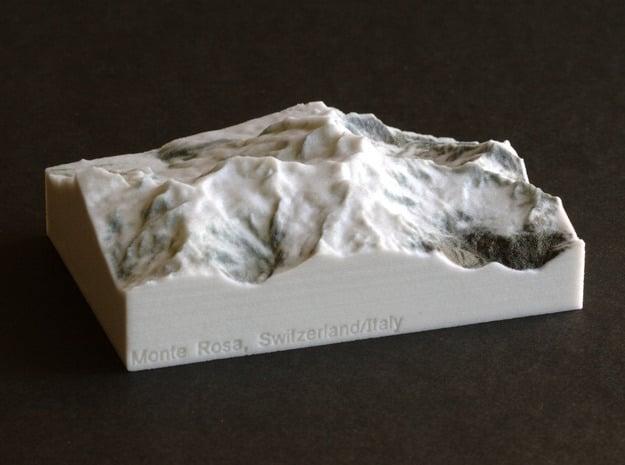 Monte Rosa, Switzerland/Italy, 1:150000 Explorer in Full Color Sandstone
