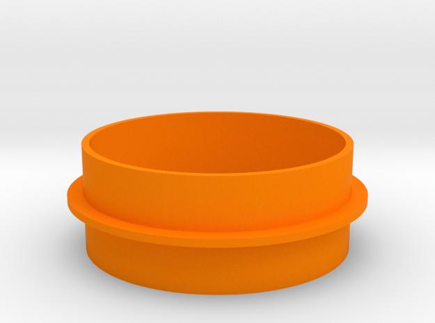 Kamin Lagersitz in Orange Processed Versatile Plastic