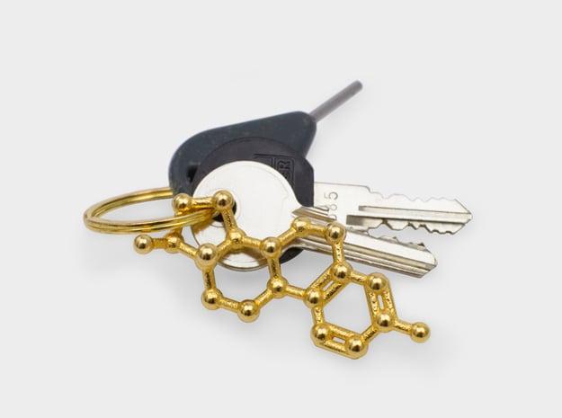 Estrogen (female sex hormone) Necklace Keychain