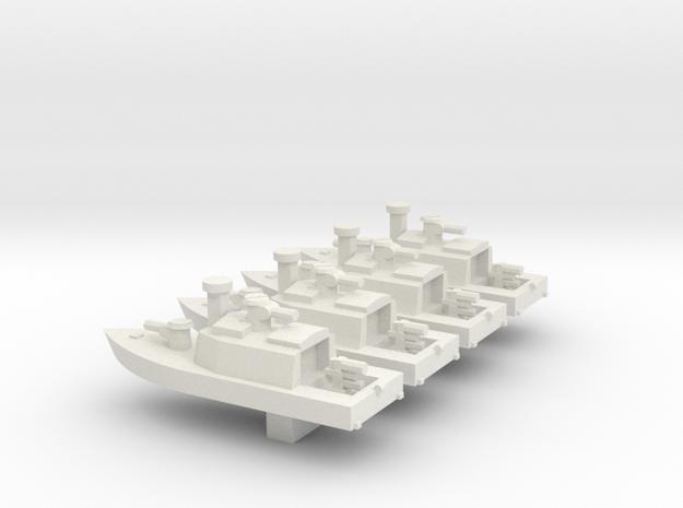 1/700 Vietnam ASPB x 4 off in White Natural Versatile Plastic