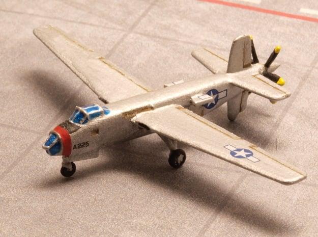 Douglas XB-42 Mixmaster pair 1/285 6mm in White Natural Versatile Plastic