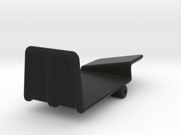 Vaterra Twin Hammers Esc and Receiver Holder in Black Natural Versatile Plastic
