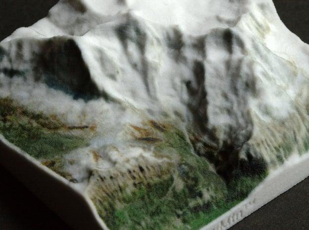 Eiger/Jungfrau, Switzerland, 1:150000 Explorer in Full Color Sandstone
