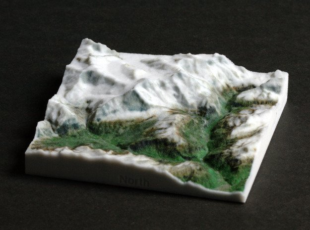 Jungfrau Region, Switzerland, 1:150000 Explorer in Full Color Sandstone