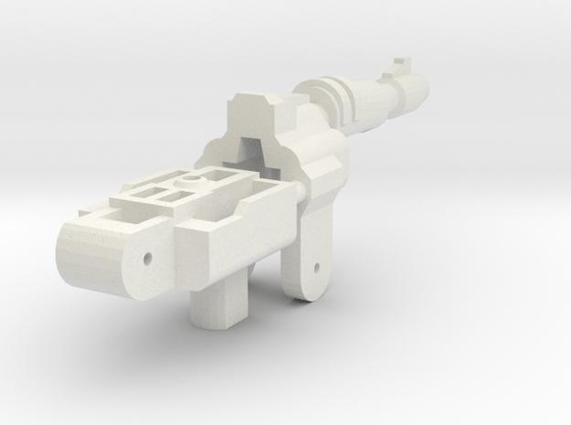 Gunmaster # 3 Single-Barrel in White Natural Versatile Plastic