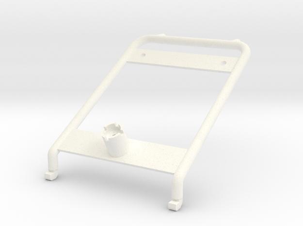 Tbb007-01 Tyco Bandit Roll Cage Brace in White Processed Versatile Plastic