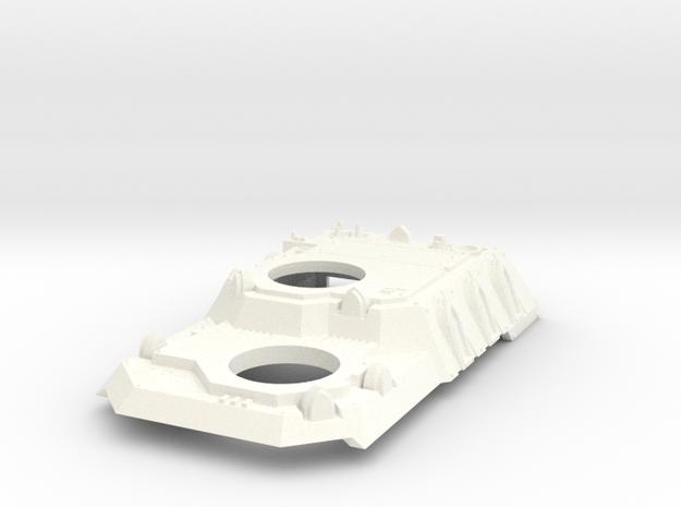 Heavy Transport Conversion in White Processed Versatile Plastic