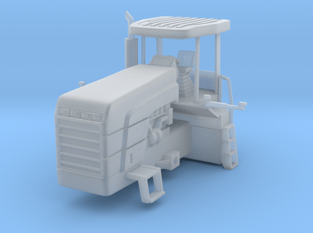 1/64 Blue 9882 front half of tractor Version 1 in Smooth Fine Detail Plastic