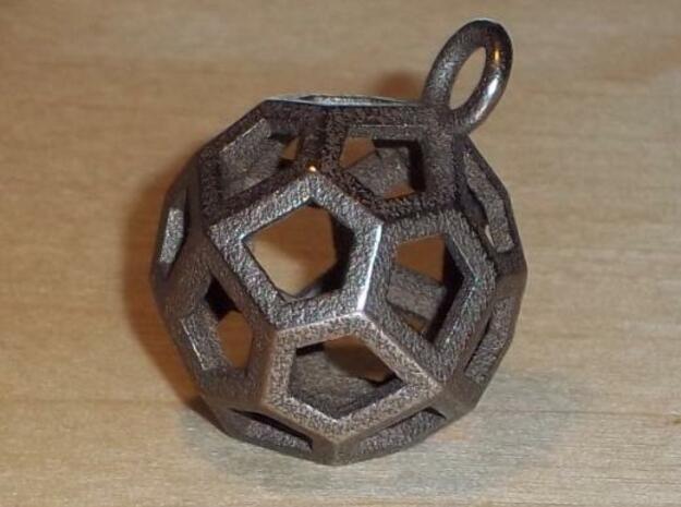Pentik in Polished Bronzed Silver Steel