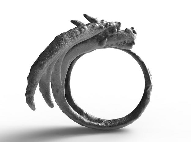 Fafnir, guardian of the treasure. in Polished Nickel Steel: 9 / 59