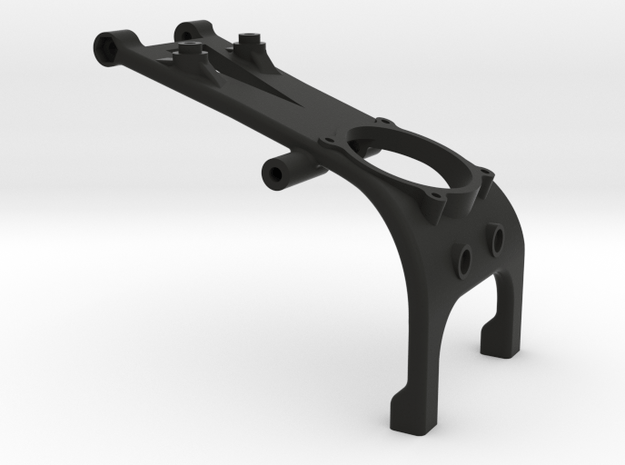 TLR 22SCT 2.0 3 gear 30mm fan brace in Black Natural Versatile Plastic