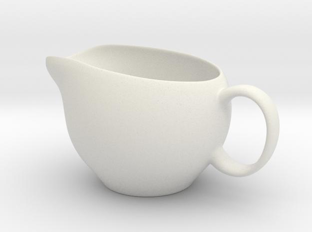 Pot in White Natural Versatile Plastic