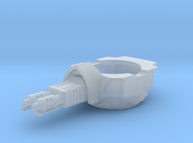 Heavy Transport Flamethrower Turret in Smooth Fine Detail Plastic