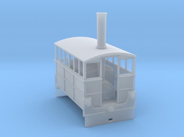 Hughes Steam Tram no4 Wantage Tramway in Smooth Fine Detail Plastic
