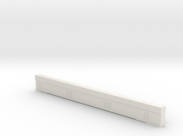 Triple Underpass East Side South Span in White Natural Versatile Plastic