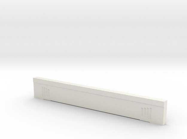 Triple Underpass West Side Center Span in White Natural Versatile Plastic