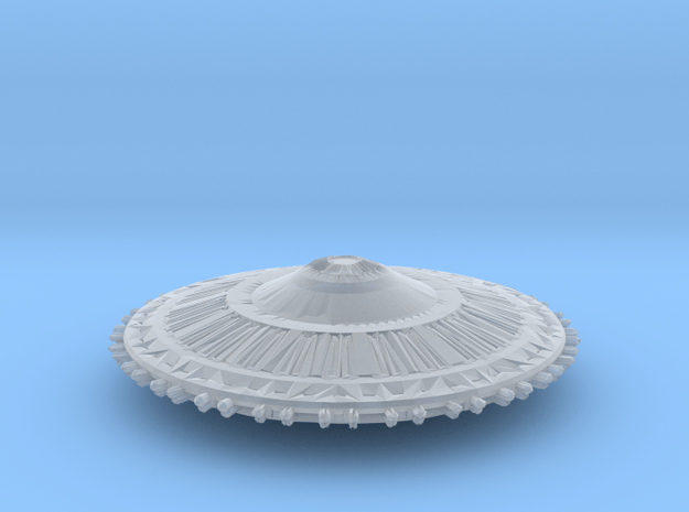 LNW Vree Xill War Saucer Armada Scale  in Smooth Fine Detail Plastic