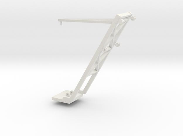 1/64 Sugar Beet Piler Conveyor Support in White Natural Versatile Plastic