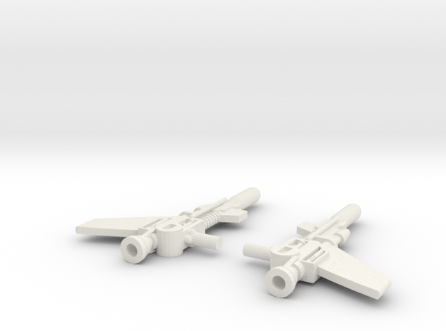 Titans Return Wingspan Weapons in White Natural Versatile Plastic
