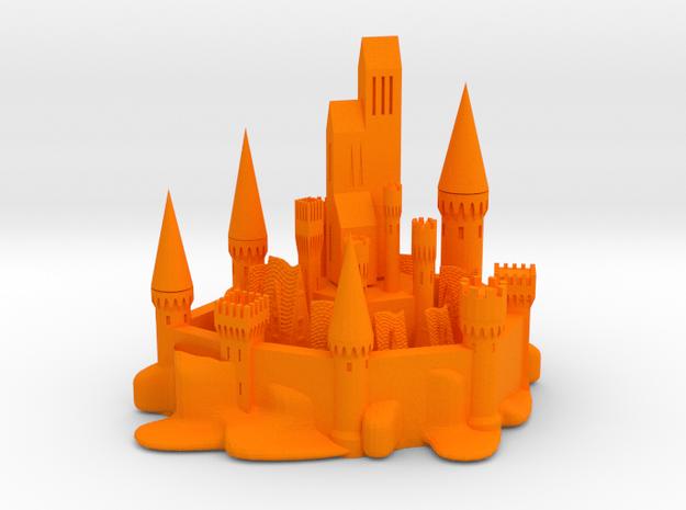 CITY OF WATERGUARD in Orange Processed Versatile Plastic