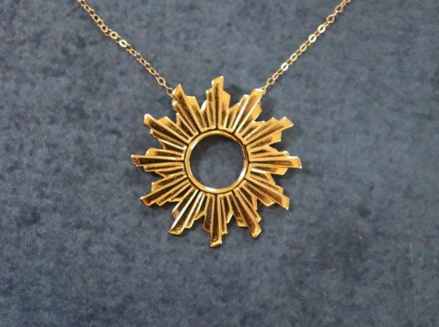 Sun Flare Necklace