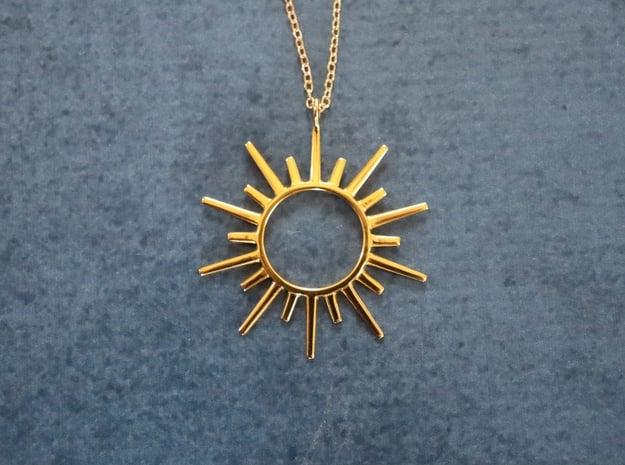 Sun Rays Pendant