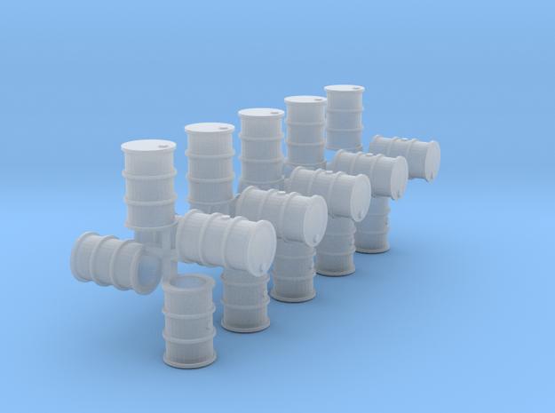 200 Liter Fässer 20er Set hohl - 1:120 in Smooth Fine Detail Plastic