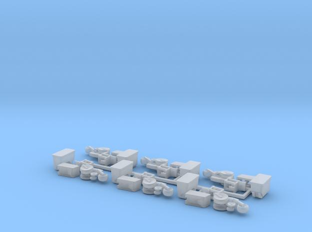 Case IH 1200 Row Unit w/ Standard Hopper (6) in Smooth Fine Detail Plastic