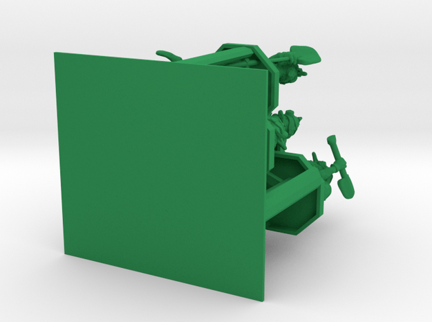 SHAFTED: Greedy Green Gnomes Plastic in Green Processed Versatile Plastic