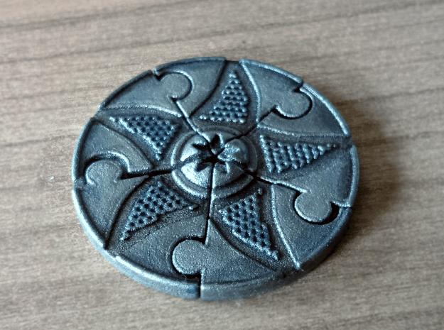 Clue Marker set for Arkham Horror in White Natural Versatile Plastic: Small