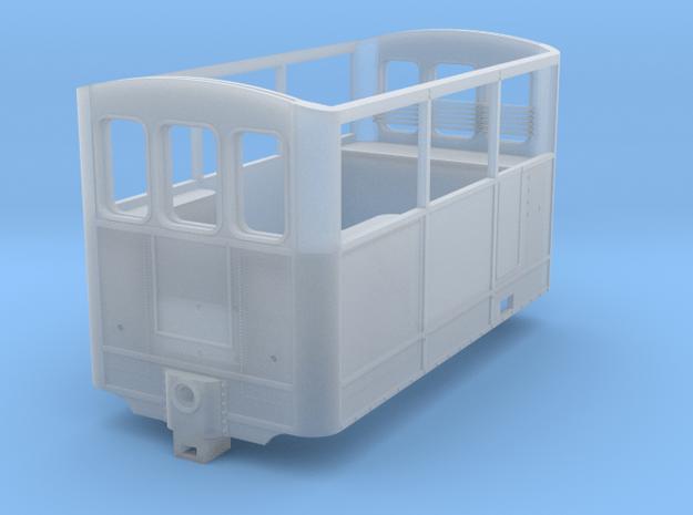 ZE 606 Wagenkast in Smooth Fine Detail Plastic