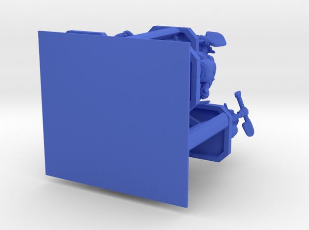 SHAFTED: Brilliant Blues Gnomes Plastic in Blue Processed Versatile Plastic