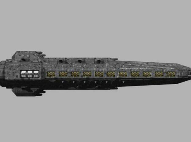 Londarian Falchion class Strike Carrier in Smooth Fine Detail Plastic