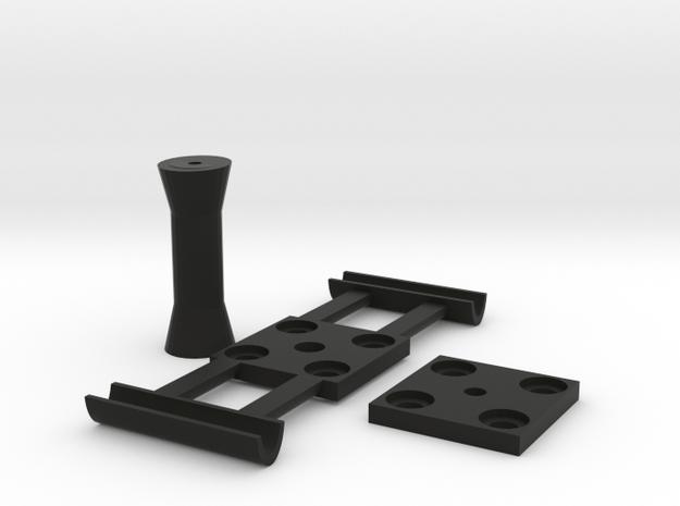 DJI Phantom 360 Camera Mount 3-piece in Black Natural Versatile Plastic
