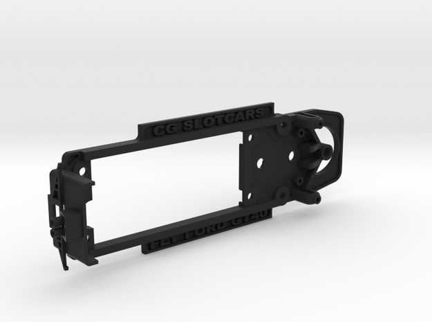 Chassis for Fly Ford GT40 mkII in Black Natural Versatile Plastic