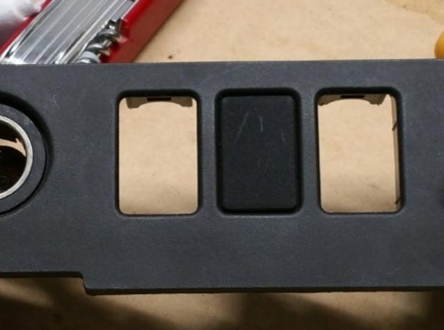 Switch Blank in Black Natural Versatile Plastic