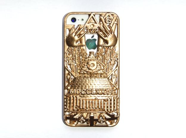 Illuminati IPhone 5 Cover in White Natural Versatile Plastic