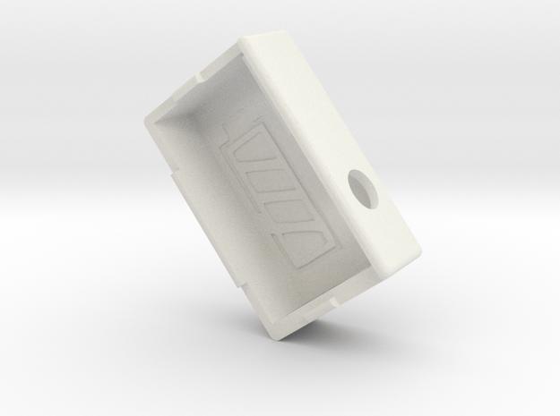 Kmods Empire squonker  in White Natural Versatile Plastic