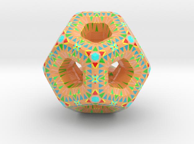 D0-7 in Glossy Full Color Sandstone