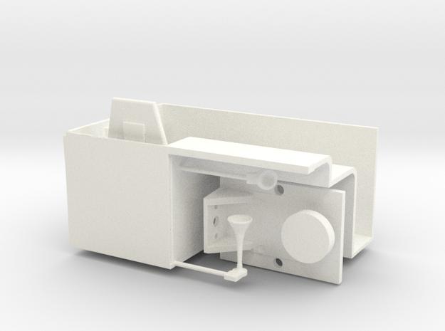Spur2m SKL24 Inneneinrichtung in White Processed Versatile Plastic