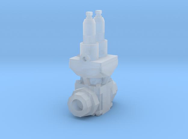 Duplex Air Pump Steam Governor  in Smooth Fine Detail Plastic: 1:48 - O