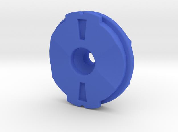 Garmin eTrex Vista/Legend to Edge Adaptor in Blue Processed Versatile Plastic