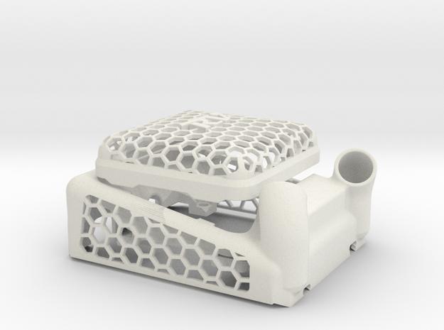 HobbyWing XERUN XR8 plus 4020 in White Natural Versatile Plastic