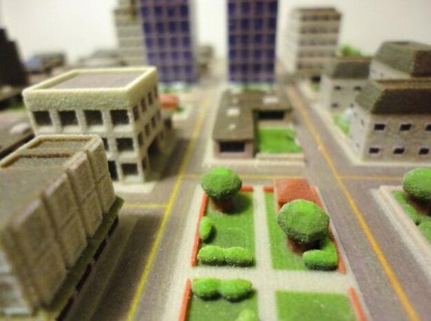 Mini City in White Natural Versatile Plastic