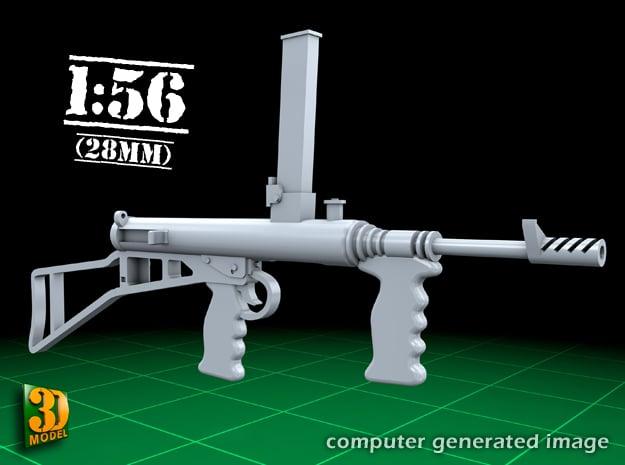 Owengun (1:56) in Smooth Fine Detail Plastic
