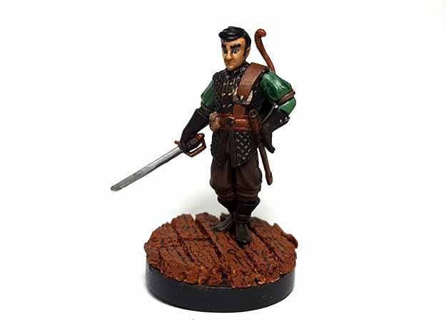 Human Rogue in Smooth Fine Detail Plastic