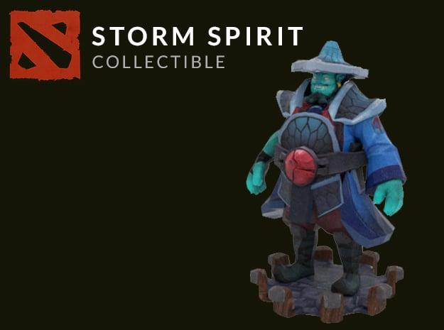 Storm Spirit  in Full Color Sandstone