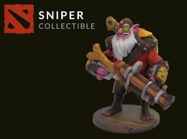 Sniper in Full Color Sandstone