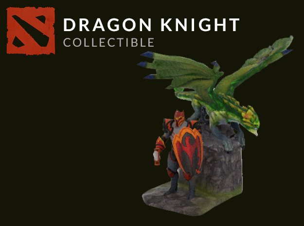 Dragon Knight in Full Color Sandstone