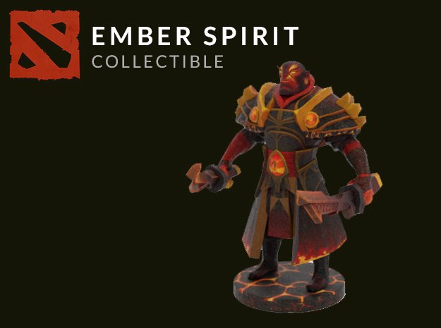 Ember Spirit in Full Color Sandstone
